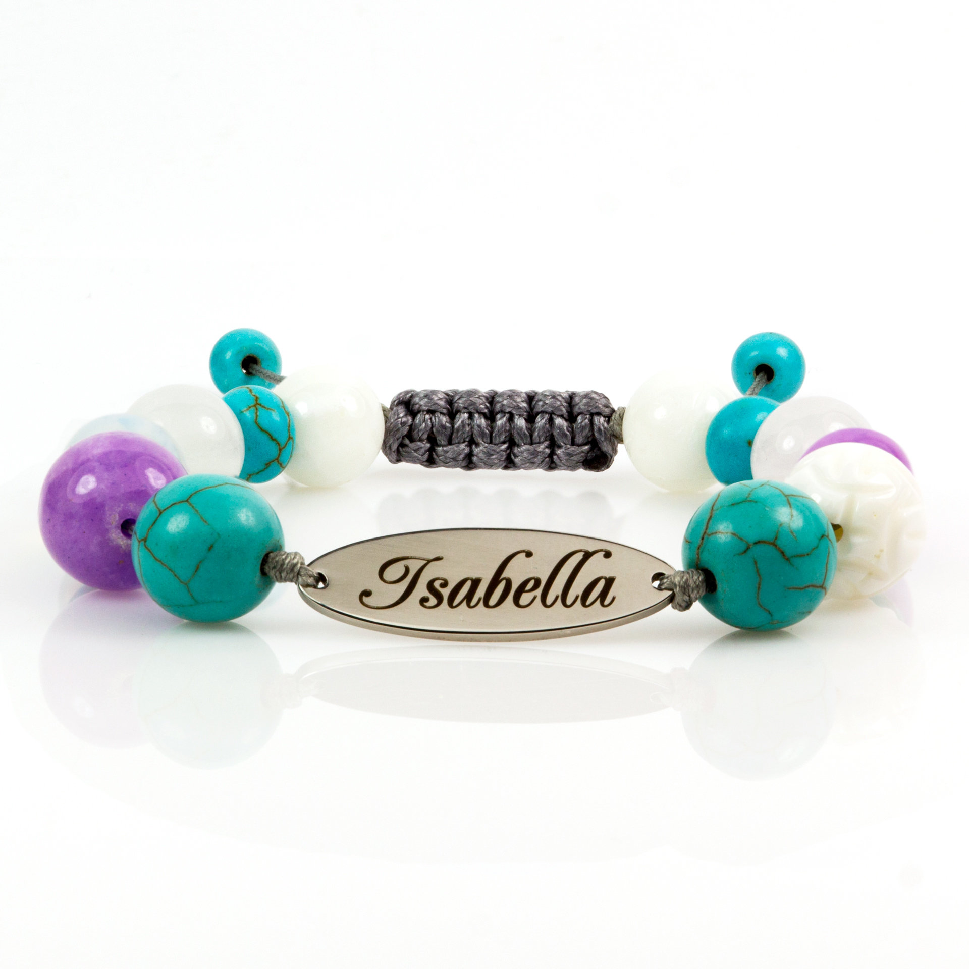 Гравирана гривна за Рак - Isabella
